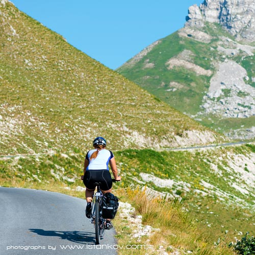 Biking in Montenegro