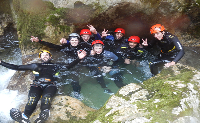 Canyoning In Montenegro - Nevidio Canyon