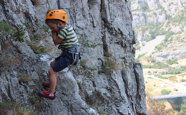 Rock climbing Montenegro - for every age