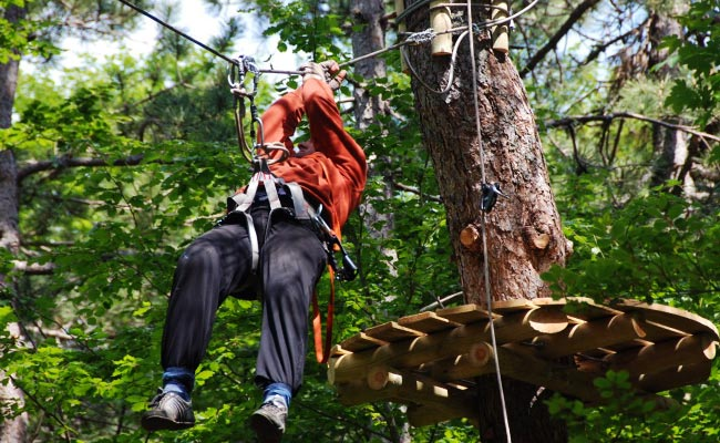 Adventure Park at Ivanova Korita - National Park Lovcen, Montenegro